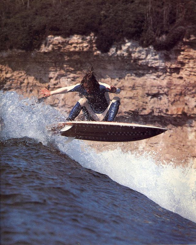 Kevin Reed Santa Cruz 1973 📷 #bobbarbour #beachasspunk