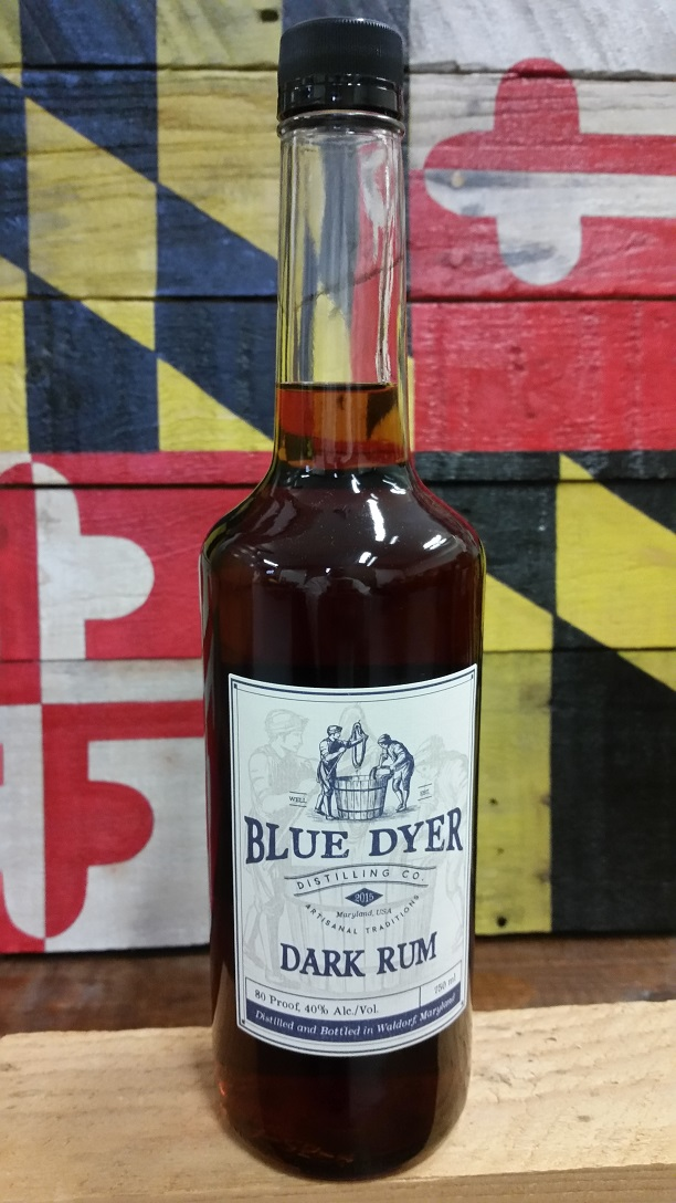 Based on our award-winning gold rum, BlueDyer dark rum incorporates a blend of a freshly charred caramel from Pure cane sugar to add notes of sweetness with a lightly charred finish to the spirit. Drink it by itself or in your favorite dark rum cocktail. Currently only available at BlueDyer Distillery!