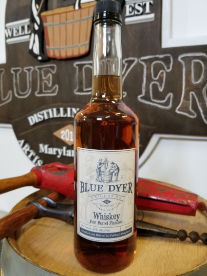 Port Barrel Finished Whiskey - BlueDyer Distilling Co.
