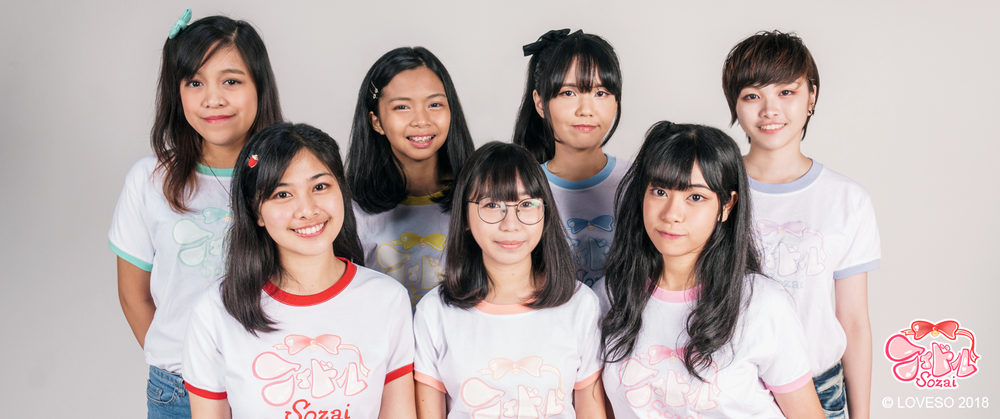 (Left to Right) Yanachii - Jash - Vivi - Aira - Mikachu - Saachan - Hayayan