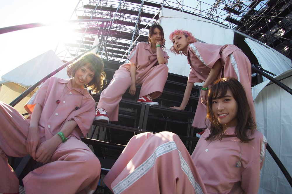 Left to right: Haruna, Tomomi, Mami, Rina