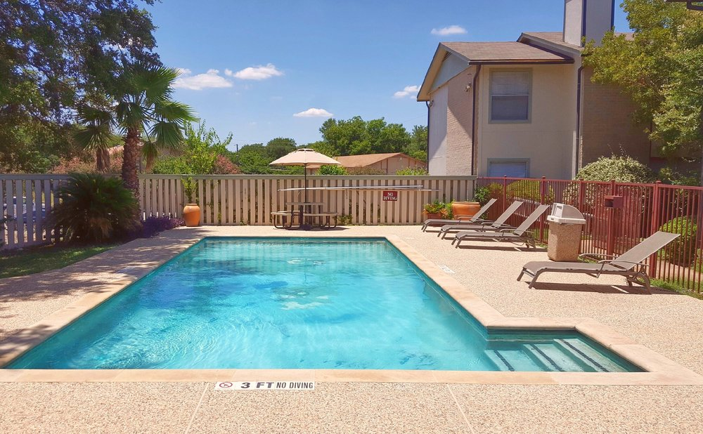 Apartment Pool, Apartments for Rent in San Marcos, TX