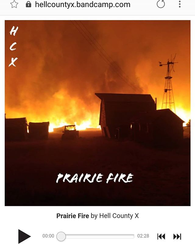 Our new E.P. Prairie Fire is available on Bandcamp! Check out the link in our Bio! :) see ya tomorrow Toronto!