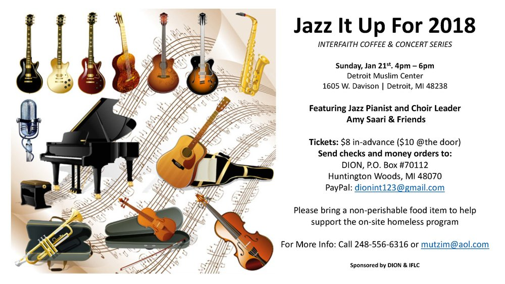 Flyer - Jazz It Up DION 2018