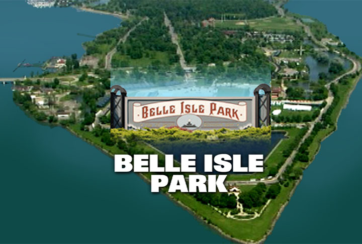 Photo - Belle Island and sign