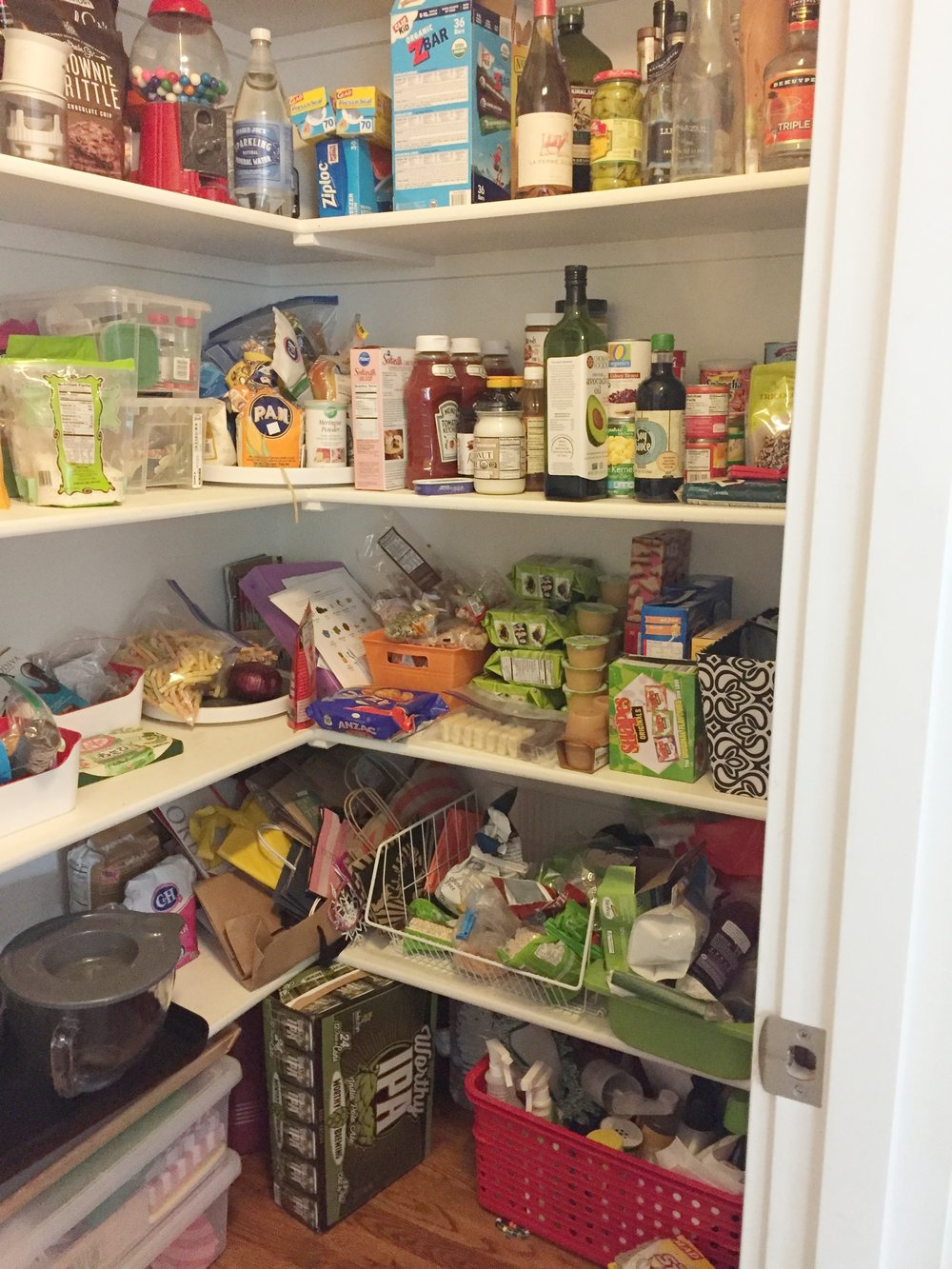 Kitchen Pantry-Before