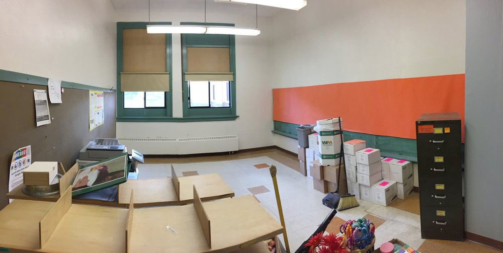 Teacher Workroom-Before