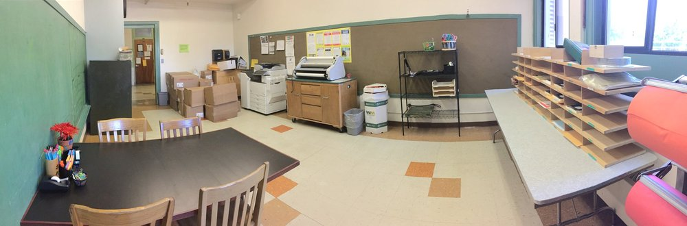 Teacher Workroom-After
