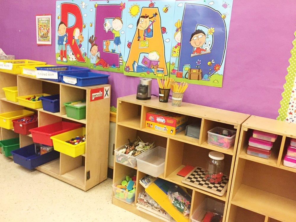 Copy of 1st Grade Supply Shelf-After