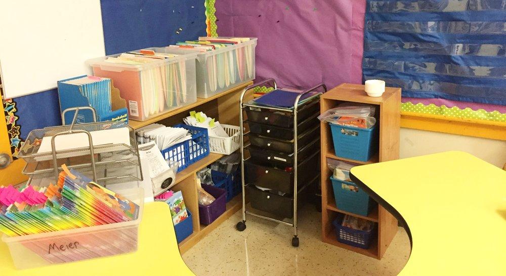 Copy of 1st Grade Reading Corner-After