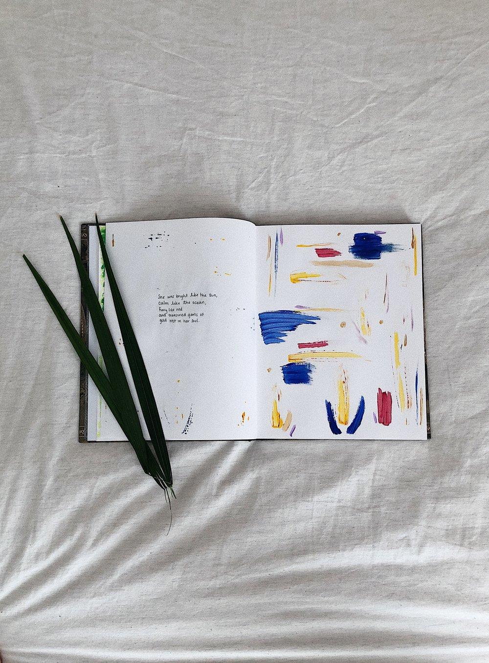 art journal - poetry