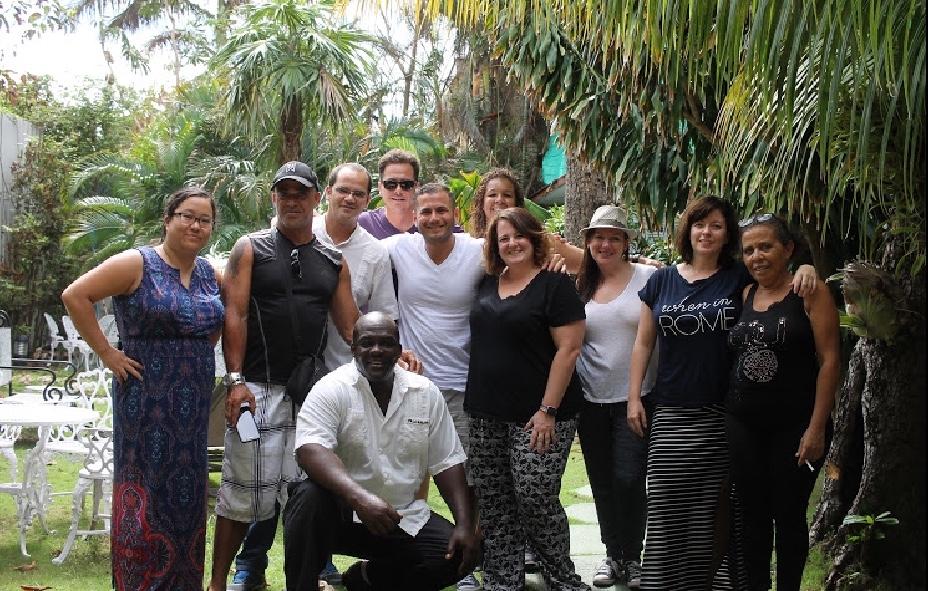 Group in Havana