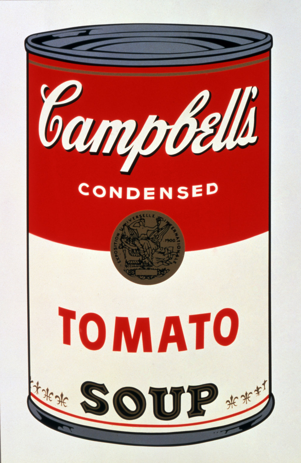 Andy Warhol, Campbell's Tomato Soup 1 of a 10 piece series Serigraph Print on Paper, 1962