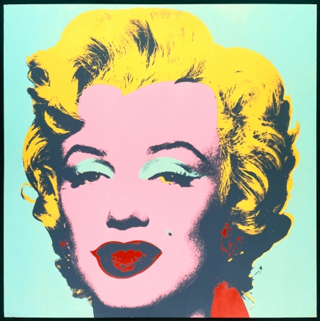 Andy Warhol, Marilyn Monroe  1 of a 10 piece series  Serigraph Print on Paper, 1967