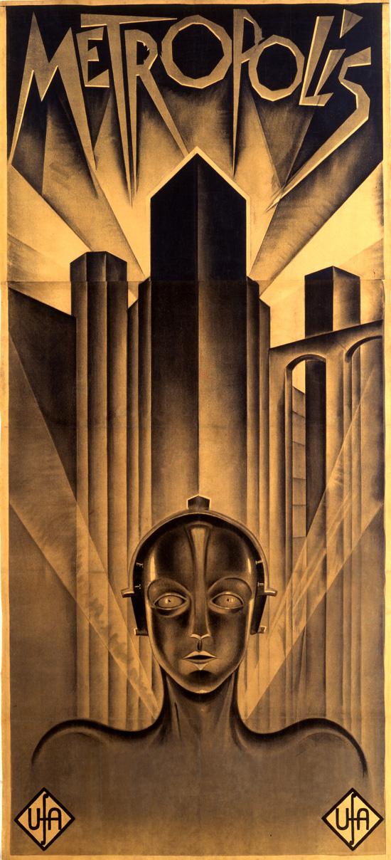 """""""Metropolis""""  by Heinz Schulz-Neudamm 1927"""