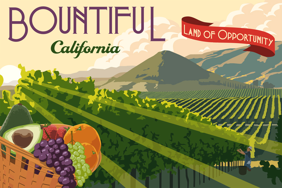 Bountiful California by Steve Thomas