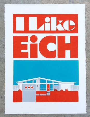 """I Like Eich"" - 18""x24.5"" - Limited Edition Serigraph by Aaron Eskridge"