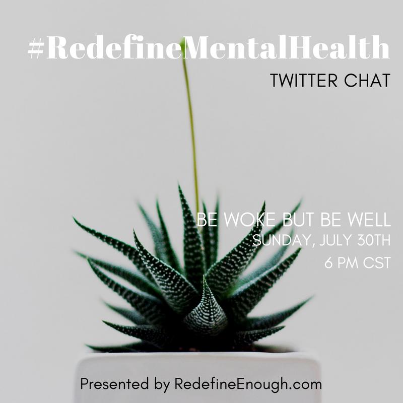 RedefineMentalHealth activism twitter chat