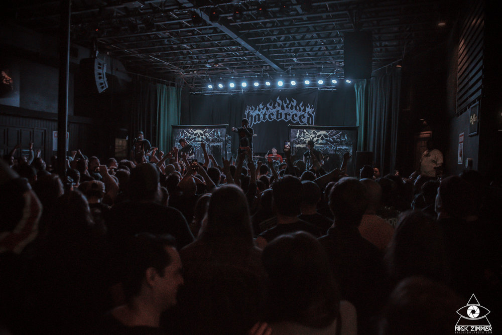 Hatebreed - Venue: Exit / InCity: Nashville, TNDate: March 26, 2018Photos: Nick Zimmer Photography