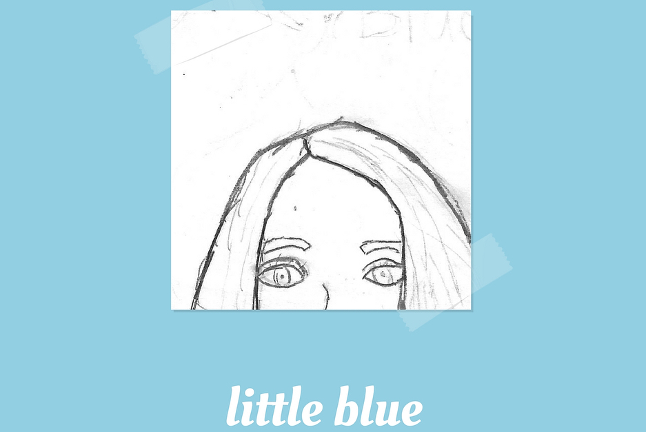 Allison Mahal // Little Blue - Release date: May 11, 2018