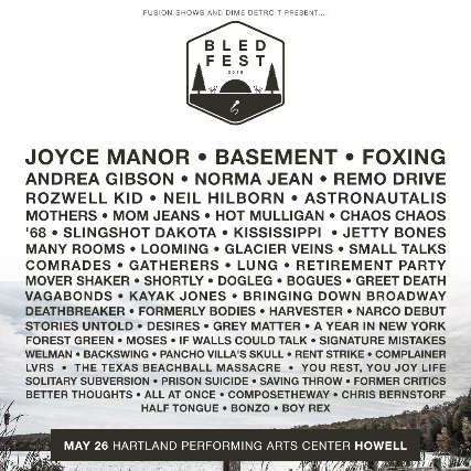 BLED FEST - Venue: Hartland Performing Arts CenterCity: Howell, MIDate: May 26, 2018