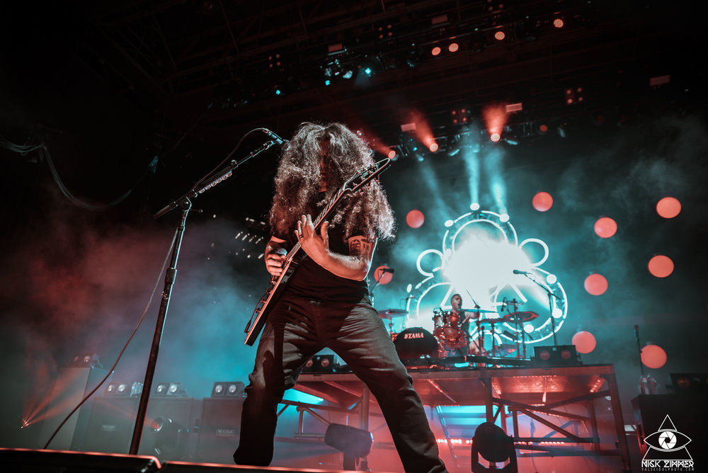 Coheed and Cambria - Venue: Ascend AmphitheaterCity: Nashville, TNDate: July 11, 2018Photos: Nick Zimmer Photography