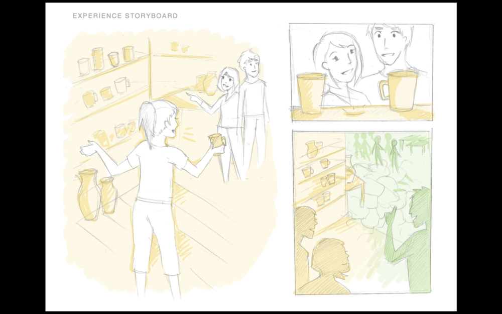 Storyboards by Shelley Xia