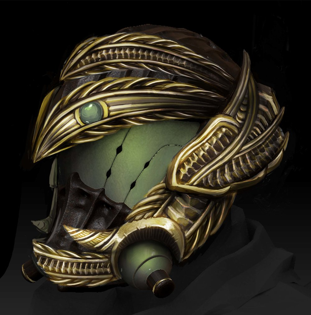 Exotic Xol helmet