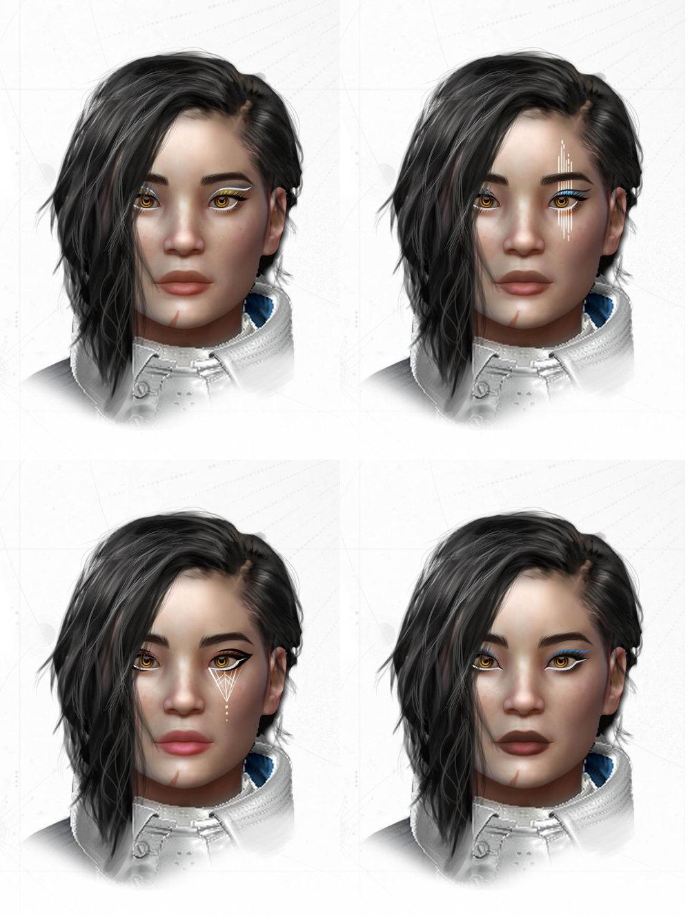 Ana Bray makeup ideas