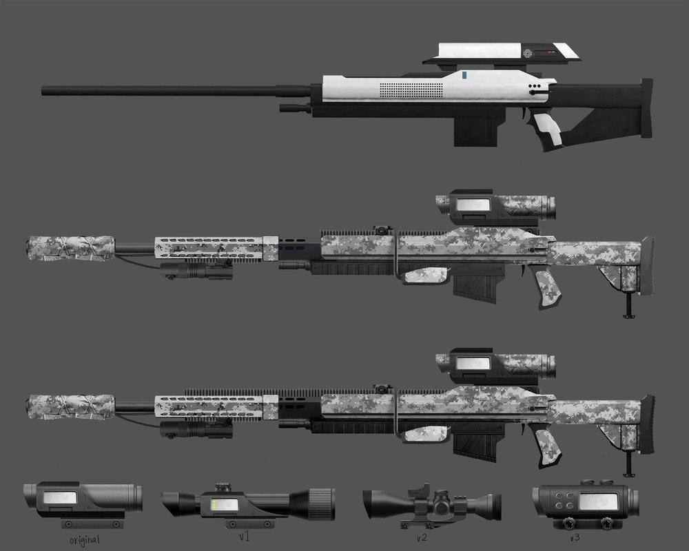 Arctic Sniper Rifle