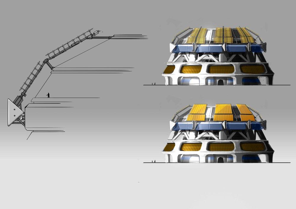 Clovis Bray dome/solar panels