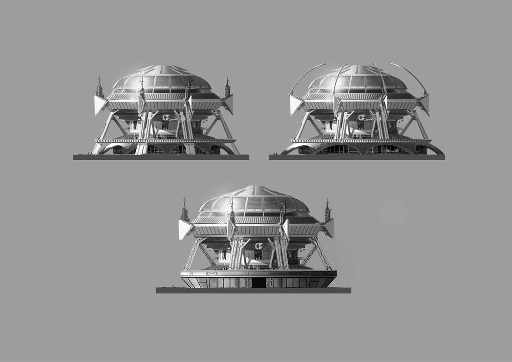 Clovis Bray dome iterations (collab with Steven Olds)