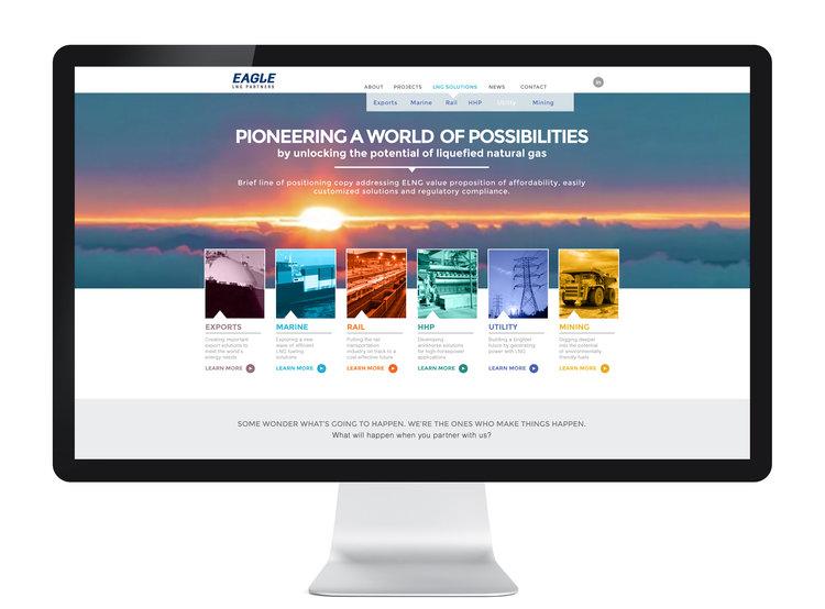 Eagle LNG website — Michael Frye
