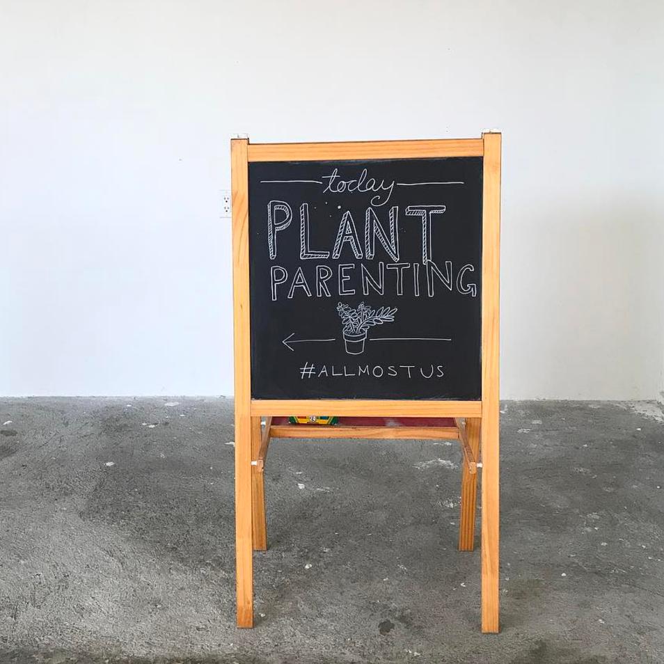 Plant Parenting Sign