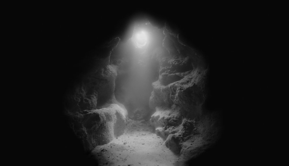 Untitled #1  from the series  Above & Below , 2013 (pinhole photograph) archival pigment print on fiber-based paper, 20 x 35 inches