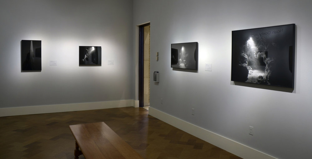 By the Light , Installation View, San Diego Museum of Art, San Diego California, November 2013