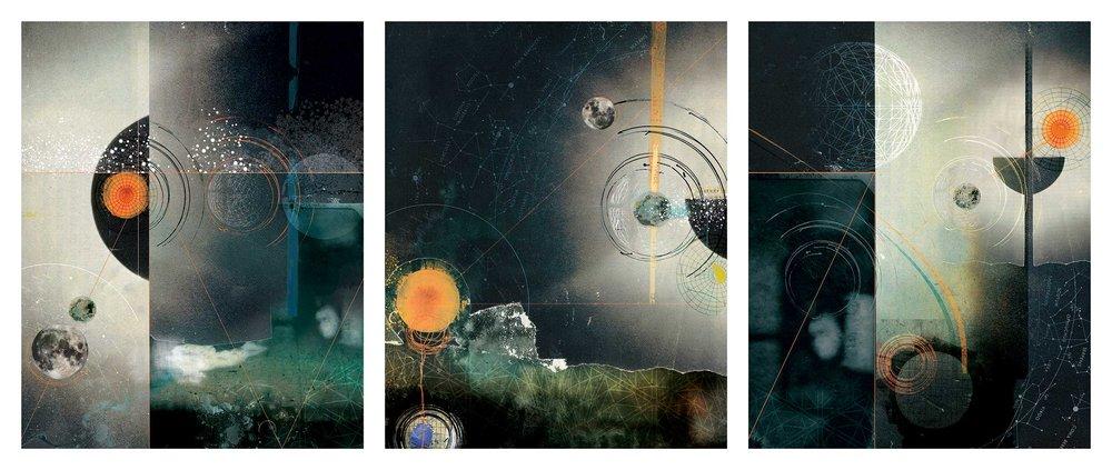 In the Dark (triptych)