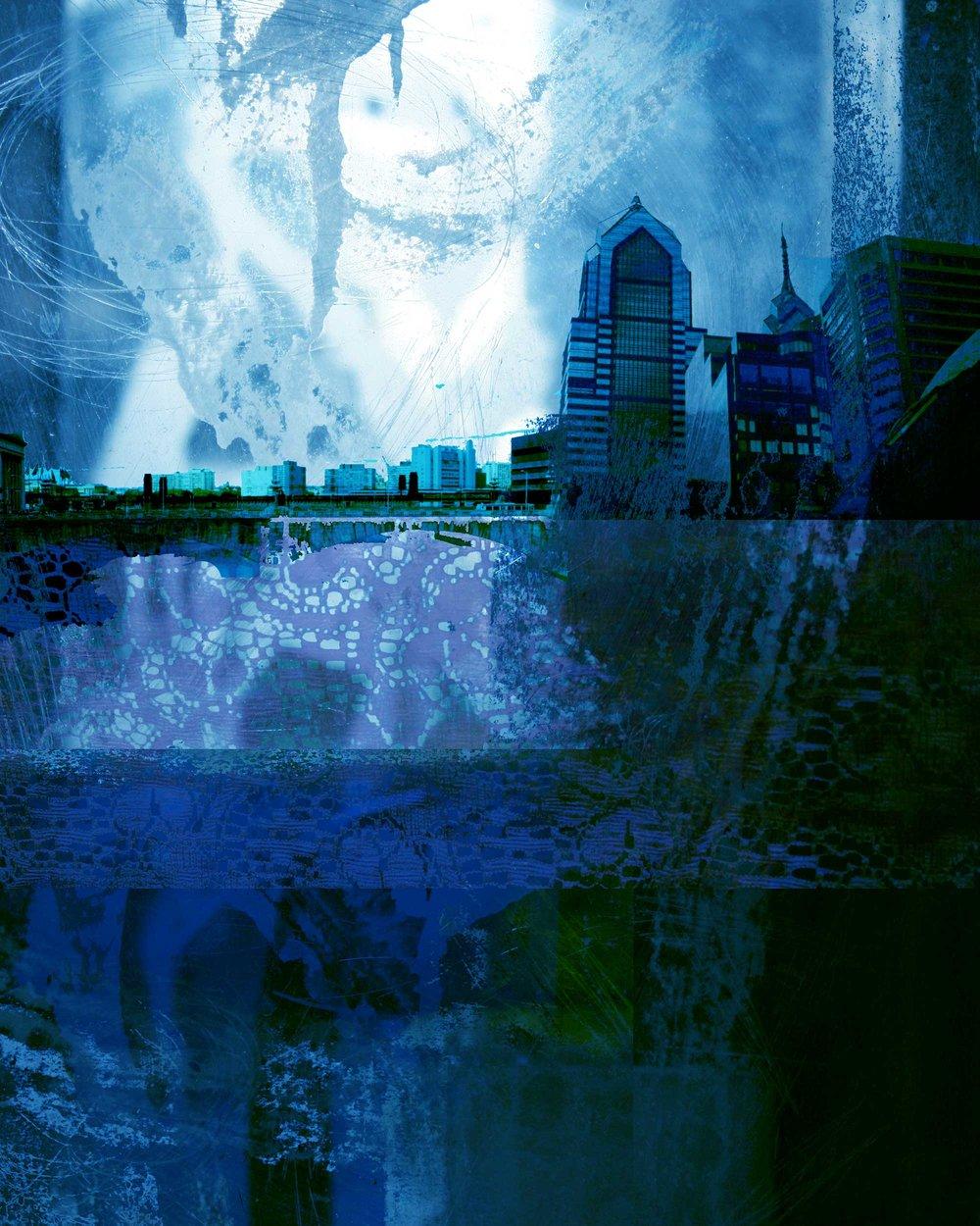 Tiny City (Blue)