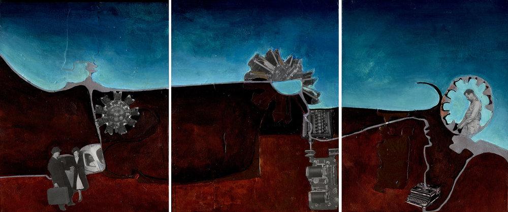 Travel (Triptych)