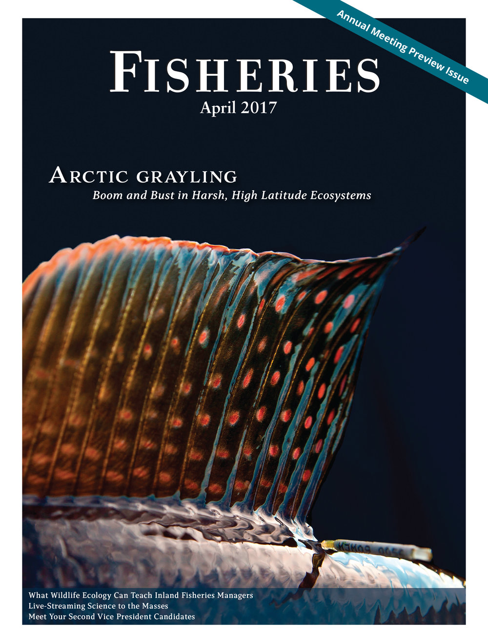 Fisheries Magazine, Cover (American Fisheries Society)