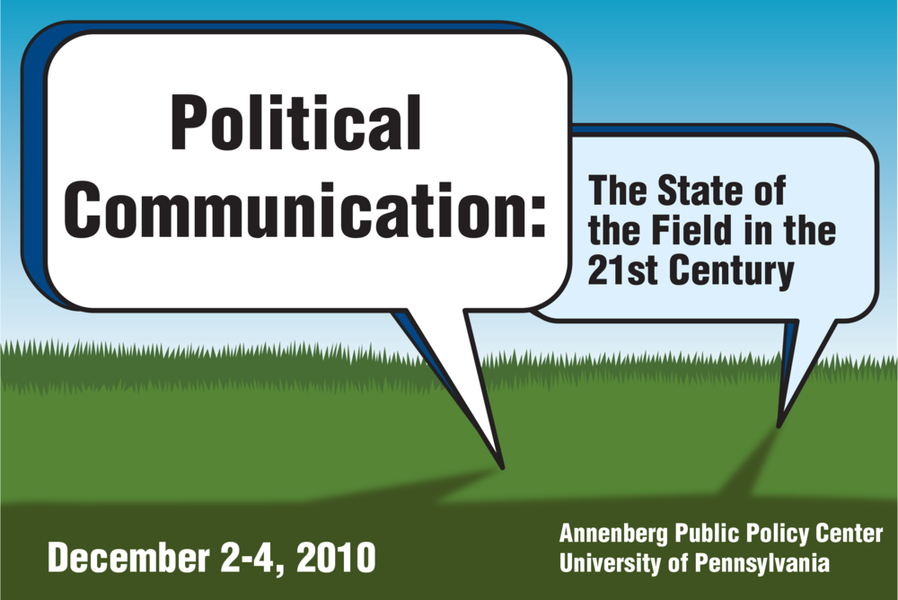 Conference logo, Annenberg Public Policy Center, University of Pennsylvania