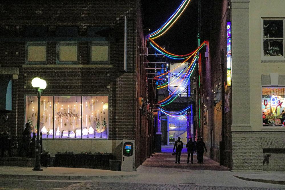 Gallery Alley, Lincoln, Nebraska