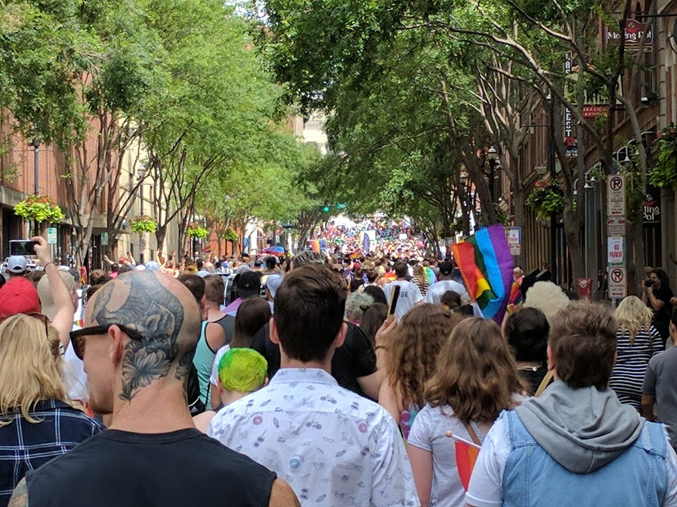 Not All One Political Party - (Photo from Nashville Pride Fest 2017 - The Independent Progressive)