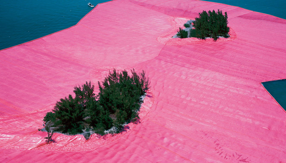 Christo wrapped islands.jpg