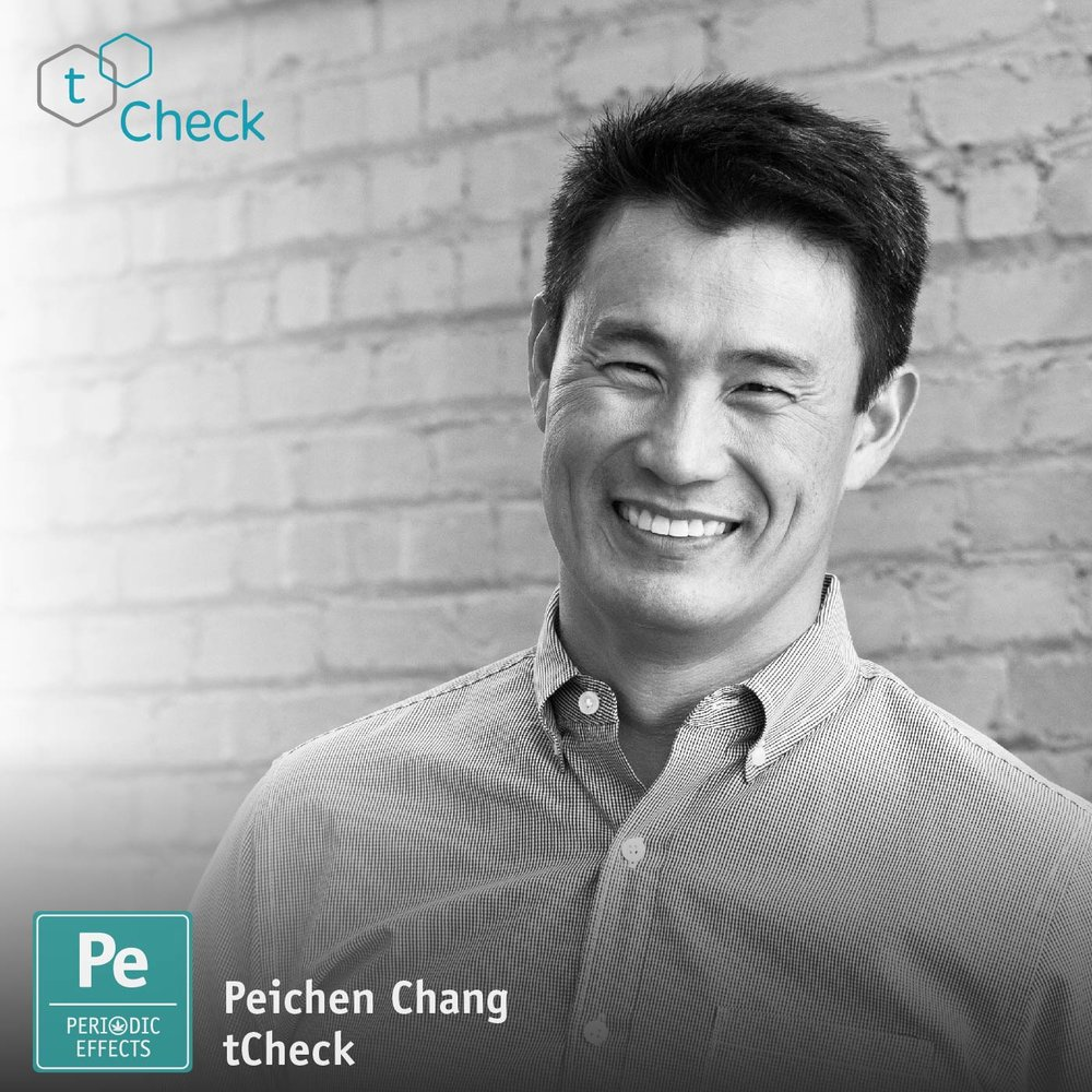 Peichen Chang, CEO of tCheck Cannabis Potency Analyzer