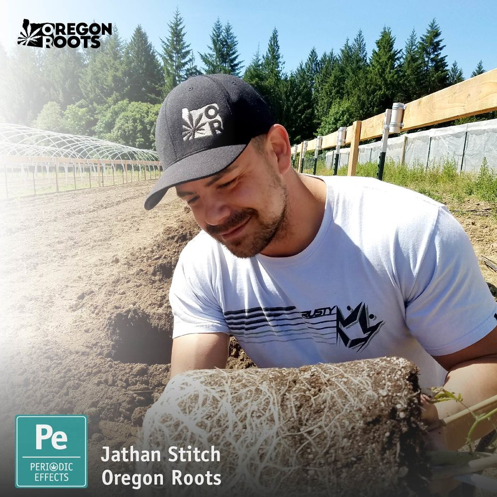Jathan Stitch CEO of Oregon Roots