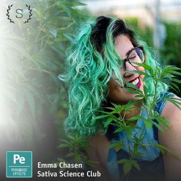 Emma Chasen, Director of Education at Sativa Science Club