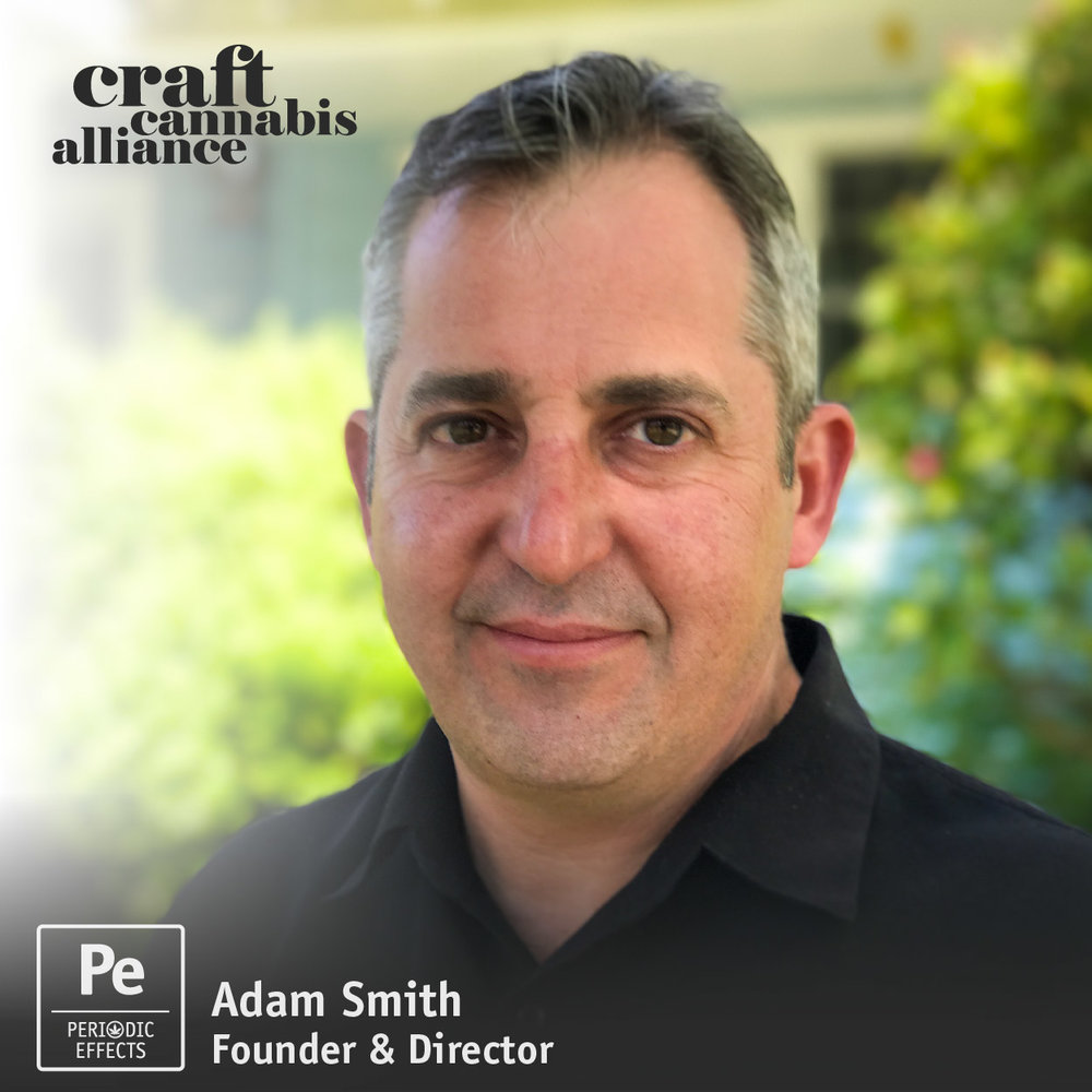 Adam Smith, Founder and Director of the Craft Cannabis Alliance