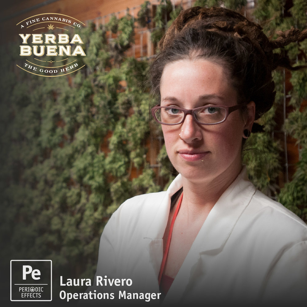 Laura Rivero, Operations Manager at Yerba Buena, an Oregon Cannabis Producer