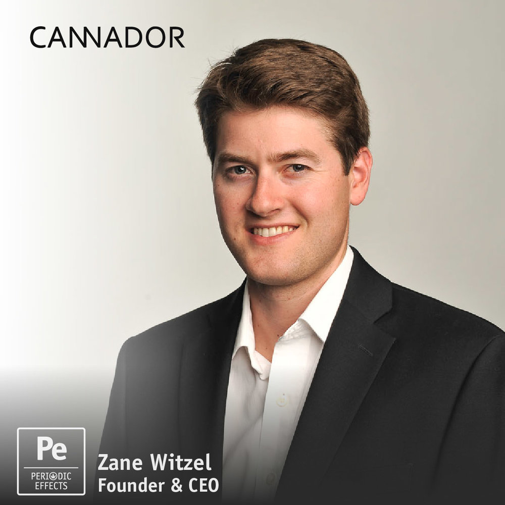 Zane Witzel Founder and CEO of Cannador, The Humidor for Cannabis